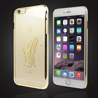 Zizo Carrying Case for Apple Devices - Retail Packaging - Golden Butterfly/Golden Butterfly
