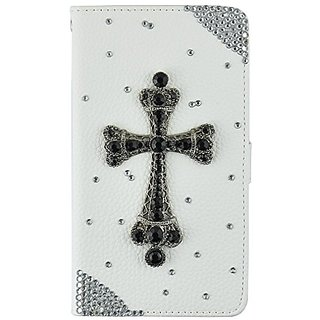 S6 Edge Plus pu case,S6Edge Plus wallet case,Mydiary Fashion 3D Handmade Bling Flip PU leather Cover with Maganetic Clos