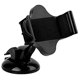 SkyBlue Car Windshield / Dashboard Universal smart phone mount Holder, car cradle for iPhone, Samsung, LG Android