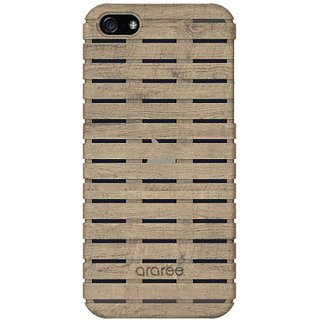 ARAREE Woody Carrying Case for iPhone 5/5s - Retail Packaging - Ash
