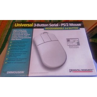 Universal 3-Button Serial - PS/2 Mouse
