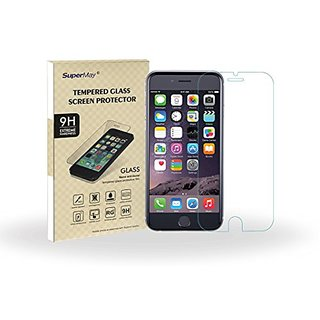 SuperMay® Premium Ballistic Corning Gorilla 0.2mm Tempered Glass Screen Protector for iPhone 6 PLus 5.5