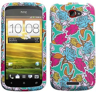 MYBAT HTCONESHPCIM644NP Slim and Stylish Protective Case for HTC One S - 1 Pack - Retail Packaging - Rose Garden