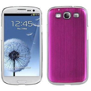 MYBAT SAMSIIIHPCBKCO007NP Premium Metallic Cosmo Case for Samsung Galaxy S3 - 1 Pack - Retail Packaging - Hot Pink