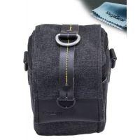 MegaGear ``Ultra Light`` Camera Case Bag Black For Canon SX50 HS, Sx510 HS, Sx500, Nikon 1 S1, Nikon 1 J3