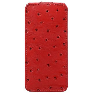 Melkco - Leather Case for Apple iPhone 5/5S - Jacka Type (Red) - APIPO5LCJT1RDOH