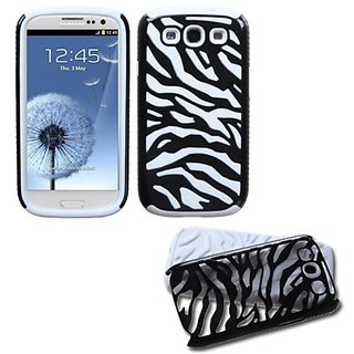 MyBat SAMSIIIHPCFSNT001NP Hybrid Fusion Protective Case for Samsung Galaxy S3 - 1 Pack - Retail Packaging - Natural Blac