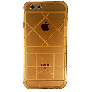 Gold transparent Iphone 6 Iphone 6s Bumper Case Mobile Bro