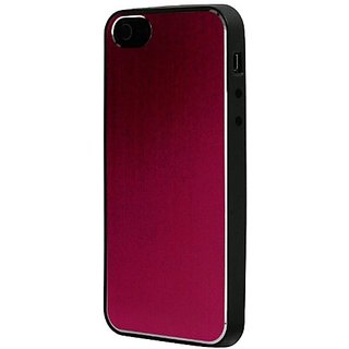 foneGear 07415 Aluminum TPU Shell for iPhone 5 - 1 Pack - Retail Packaging - Pink