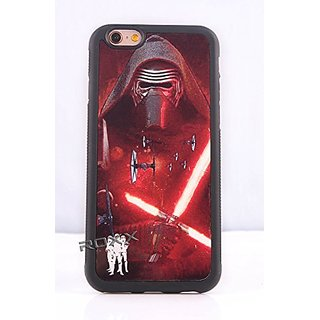 (iPhone 6 (4.7) Kylo Ren) ROXX Star Wars Case Force Awakens Rubber Grip