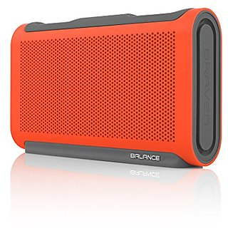 Braven Wireless Speaker for Smartphones - Retail Packaging - Orange/Gray