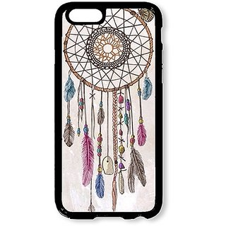 iPhone 6 Case AOFFLY® Vintage Dream Catcher Black Soft Case for Apple iPhone 6 4.7Inch