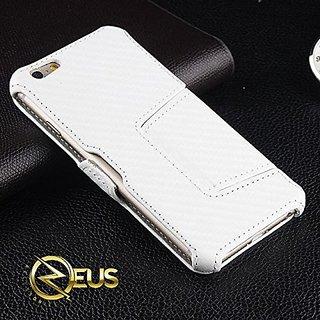 Carbon Fiber PU Leather iPhone 6 Plus Case w/stand