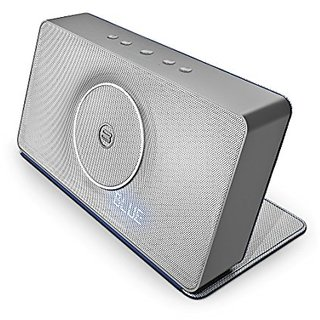 Bayan Audio Soundbook X3 Wireless Bluetooth Speaker (Silver/Blue)