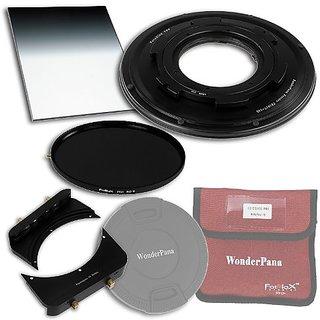 WonderPana 66 FreeArc Essentials ND 0.9SE Kit for Tokina 10-17mm f/3.5-4.5 AT-X 107 DX AF Fisheye Lens (APS-C 35mm)