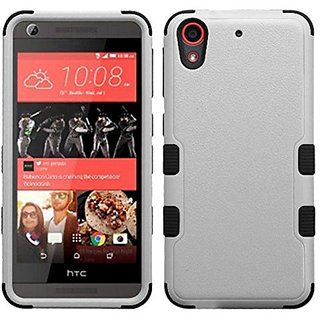 MyBat Cell Phone Case for HTC Desire 626, HTC Desire 626s - Retail Packaging - Black/Gray
