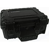Condition 1 101075 Watertight Black Medium Case With Foam Water Proof Dust Proof Dry Box (Black)