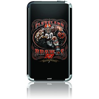 Skinit Protective Skin for iPod Touch 1G (Illustrated Cleveland Brown Running Back)
