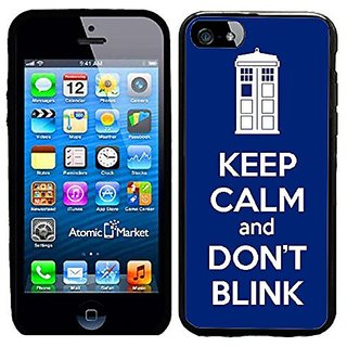 Tardis Keep Calm And Dont Blink Case / Cover For Apple Iphone 6 or 6S by Atomic Market