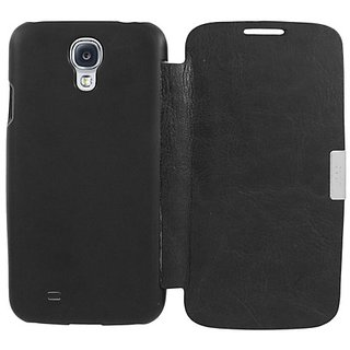 Eagle Cell Flip Case for Samsung Galaxy S4/I9500 - Retail Packaging - Black