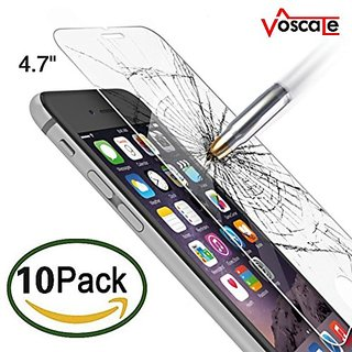 Voscale iPhone 6 Screen Protector, HD Ultra Clear Premium Tempered Glass Screen Protectors Perfect Fit for iPhone 6/6S (