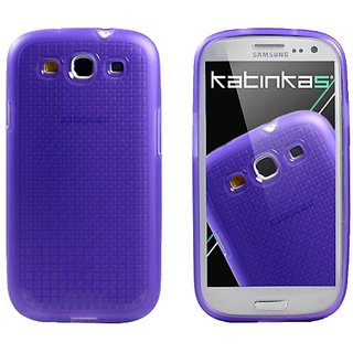 Katinkas USA 2108054302 Soft Cover for Samsung Galaxy S3 - Pixel - 1 Pack - Retail Packaging - Purple