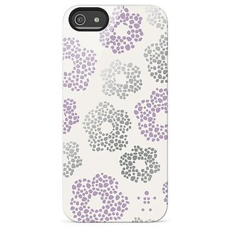 Belkin Shield Blooms Case / Cover for iPhone 5 and 5S (Purple)