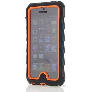 Apple iPhone 5 iPhone 5s Drop Tech Orange Gumdrop Cases Silicone Rugged Shock Absorbing Protective Dual Layer Cover Case