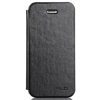 Kalaideng KLD England Series Folio PU Leather Case for iPhone 5/5s - Retail Packaging - Black
