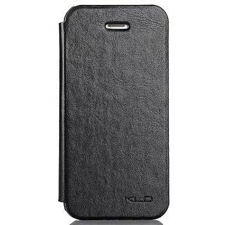 Kalaideng KLD England Series Folio PU Leather Case for iPhone 5/5s - Retail Packaging - Black