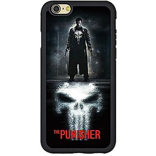 The Punisher Iphone 6s Case,Customized Marvel Series the Punisher TPU Case Cover for iPhone 6/6S (4.7