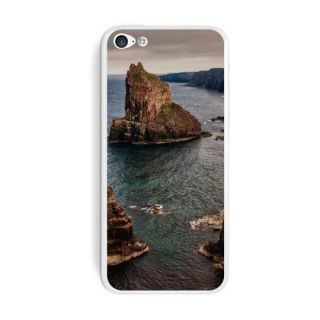 Graphics and More Duncansby Scotland Shore Rock Formations Protective Skin Sticker Case for Apple iPhone 5C - Set of 2