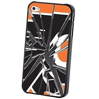 NHL Philadelphia Flyers iPhone 5 Broken Glass Lenticular Case