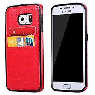 S6 Case, Galaxy S6 Case, Joopapa Samsung Galaxy S6 Wallet Case, Luxury Fashion Pu Leather Wallet Case back Cover with 2