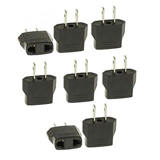 Tmvel ETOA 8 PCS European to USA American Outlet Plug Adapter