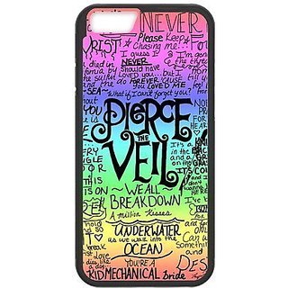 iPhone 6 Protective Case -Pierce The Veil Hardshell Cell Phone Cover Case for New iPhone 6