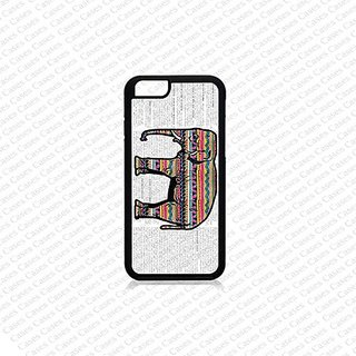 Krezy Case iPhone 6 Case, iPhone 6 case, Colorful Elephant (Not a real Wood) iPhone 6 Case, Cute iPhone 6 Case, Unique i