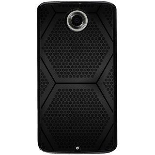 Ayaashii Hexagoan Pattern Back Case Cover for Motorola Google Nexus 6