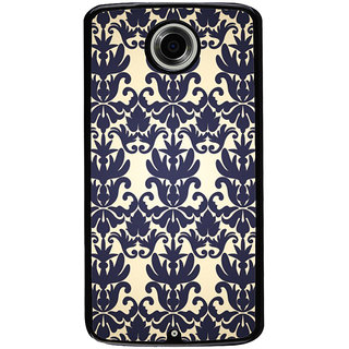 Ayaashii Floral Design Pattern Back Case Cover for Motorola Google Nexus 6
