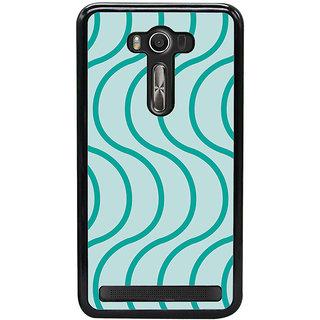 Ayaashii Curves String Pattern Back Case Cover for Asus Zenfone Selfie::Asus Zenfone Selfie ZD551KL