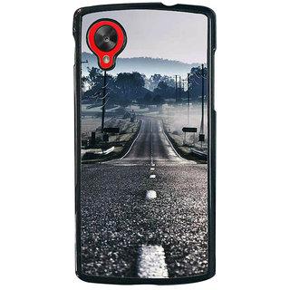 Ayaashii A Silent Road Back Case Cover for LG Google Nexus 5::LG Google Nexus 5 (2014 1st Gen)
