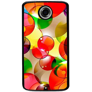 Ayaashii Ball Shaded Design Back Case Cover for Motorola Google Nexus 6