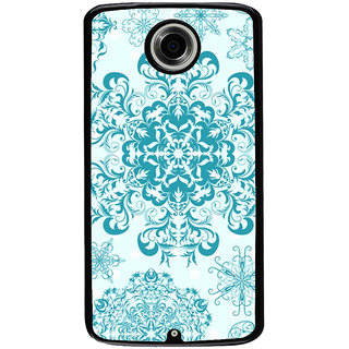 Ayaashii Rangoli Pattern Back Case Cover for Motorola Google Nexus 6