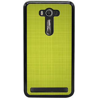 Ayaashii Green Checks Pattern Back Case Cover for Asus Zenfone Selfie::Asus Zenfone Selfie ZD551KL
