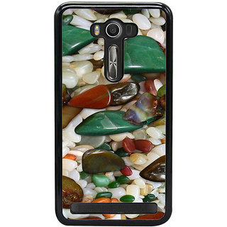 Ayaashii Sea Glass Stones Back Case Cover for Asus Zenfone Selfie::Asus Zenfone Selfie ZD551KL