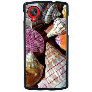 Ayaashii Sea Shells Back Case Cover for LG Google Nexus 5::LG Google Nexus 5 (2014 1st Gen)
