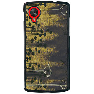 Ayaashii Trees Painting Back Case Cover for LG Google Nexus 5::LG Google Nexus 5 (2014 1st Gen)