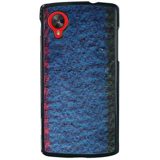 Ayaashii Blanket Cloth Back Case Cover for LG Google Nexus 5::LG Google Nexus 5 (2014 1st Gen)