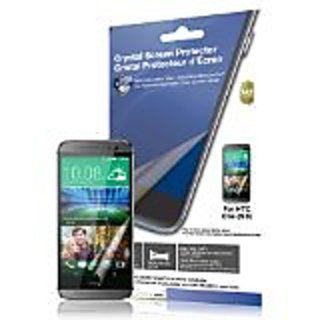 Green Onions Supply EyeComfort Crystal Anti-Fingerprint Screen Protector for HTC One M8 - Retail Packaging - Blue Light