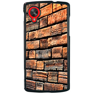 Ayaashii Bricks Pattern Back Case Cover for LG Google Nexus 5::LG Google Nexus 5 (2014 1st Gen)